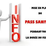 Pass sanitaire au Festival