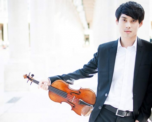 da min kim violoniste