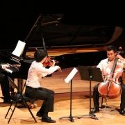 musique de chambre en trio Da-Min Kim Jean-Baptiste Mézières Nicolas Bourdoncle